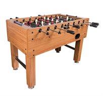 שולחן כדורגל מאסיבי דגם ויקטוריה עם עיצוב דקורטיבי כולל רגלית פילוס וכדורי משחק