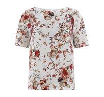 חולצה שרוול קצר PROMOD - לבן