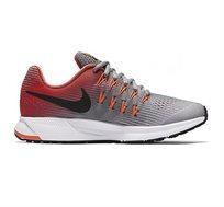 נעלי ריצה מקצועיות לנשים ונערות NIKE RUNNING SHOES AIR ZOOM PEGASUS 33 834316-0 בצבעי אפור/כתום