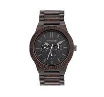 שעון עץ איטלקי Kappa Black