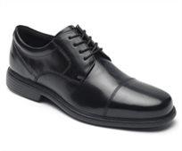 נעלי נוחות גברים Rockport רוקפורט דגם Charles Road Cap Toe