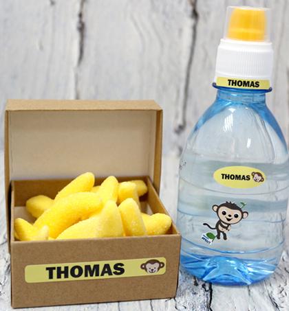 סט 75 מדבקות סימון עמידות במים במידות שונות במגוון דגמים וצבעים סדרת מיניקומבי - תמונה 4
