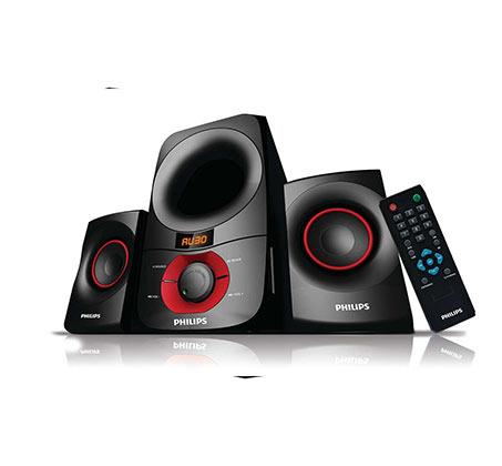 מערכת קולנוע 30W+15Wx2 Philips דגם MMS6060F - משלוח חינם - תמונה 2