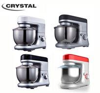 מושלם למטבח! מיקסר אלקטרוני מקצועי 4 ליטר מבית CRYSTAL בעל מנוע רב עוצמה, במגוון צבעים לבחירה