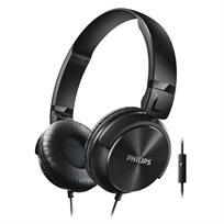 """אוזניות בסגנון DJ עם רמקול 32 מ""""מ ומיקרופון לניהול שיחות Philips SHL3065 - משלוח חינם!"""