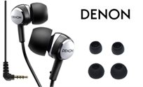 שומעים את זה? אוזניות IN EAR סילקון איכותיות במיוחד מבית DENON