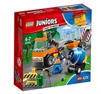 משאית כביש - משחק לילדים LEGO