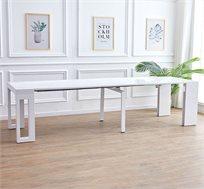 שולחן קונסולה מודולרי נפתח עד 3 מטרים דגם ALBA בצבעים לבחירה