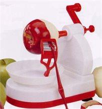 כמה גאוני, ככה פשוט! מכשיר פטנט ייחודי לקילוף מהיר, נקי ונוח של תפוחי עץ, אגסים, תפוחי אדמה ועוד