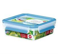 קופסת פלסטיק אטומה 0.85 ליטר