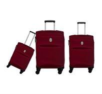 סט מזוודות 3 גדלים DELSEY בשני צבעים לבחירה