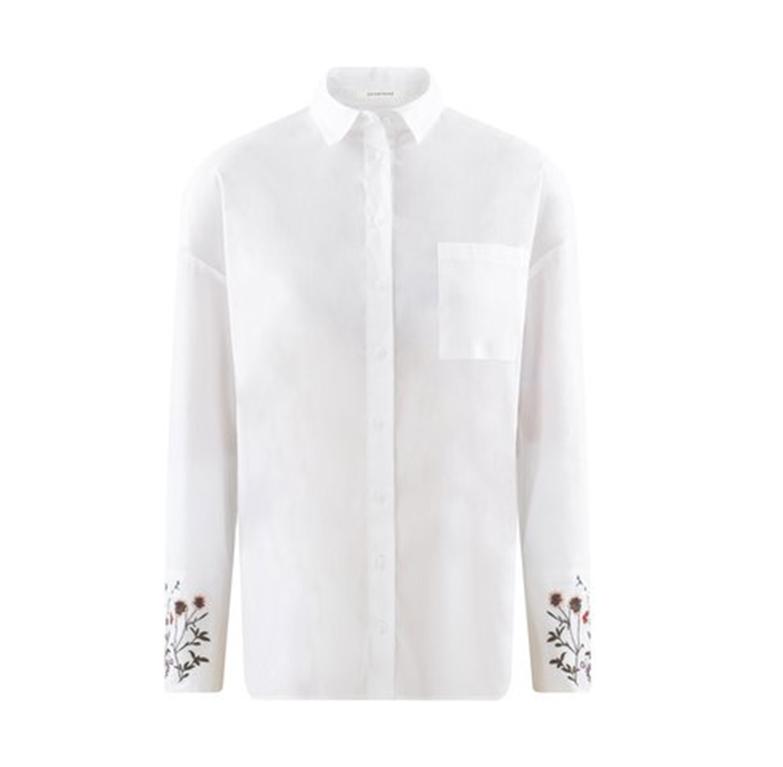 חולצת מכופתרת PROMOD - לבן