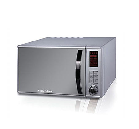 תנור מיקרוגל מנירוסטה בנפח 23 ליטר משולב בגריל דגם 44565