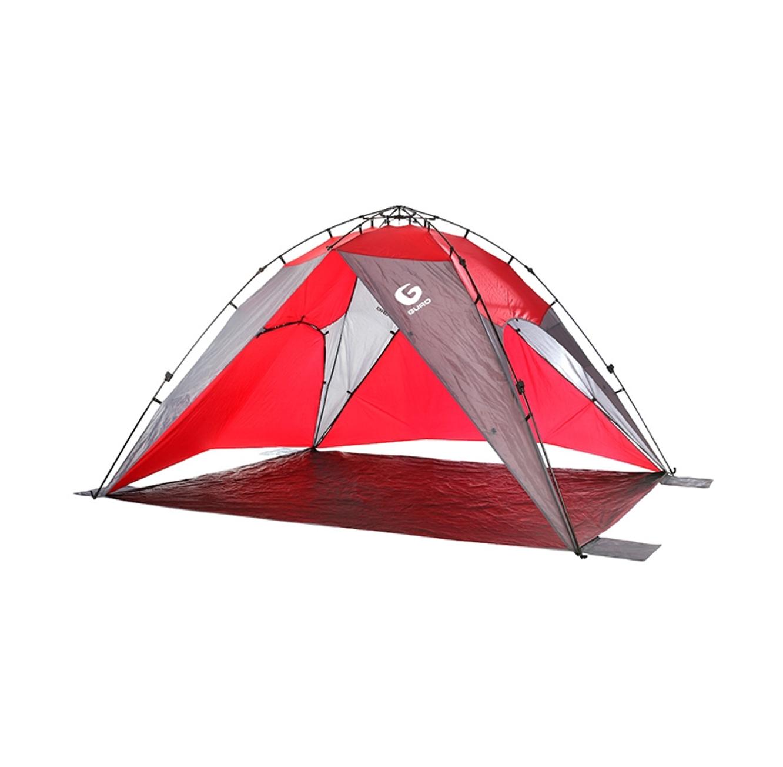 אוהל צל GURO לעד 8 אנשים עם אפשרות הסבה לאוהל קמפינג סגור דגם HORIZON  - משלוח חינם - תמונה 2