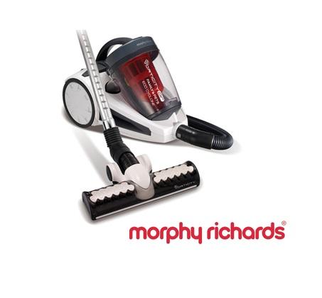 סופה! שואב האבק הוריקן של Morphy Richards עם פטנט 22 הציקלונים העוצמתי המחלץ כל לכלוך + מתנה!