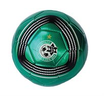 כדור כדורגל מטאלי במבחר דגמי הקבוצות האהובות לבחירה