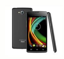 """סמארטפון MAG HELIOS SP451 עם מסך """"4.5, מעבד Quad ARM, מערכת הפעלה Android 4.1 ומצלמה קדמית ואחורית"""