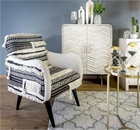 כורסת ישיבה מעוצבת דגם סאקה עשוי עבודת יד