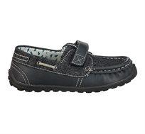 נעלי papaya ג'קי מוקסין קנבס בצבע שחור