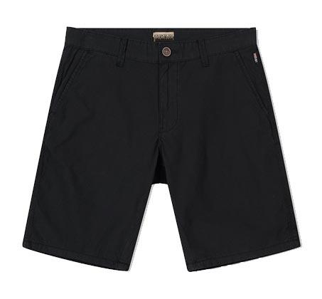 מכנסי ברמודה קצרים לגבר - שחור