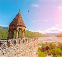 טיול מאורגן בגיאורגיה ל-8 ימים גם בחגים כולל טיסות ומלון החל מכ-$818*
