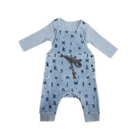 Minene סרפן קטיפה (12-0 חודשים) כחול
