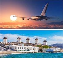טיסות למיקונוס ל-4-7 לילות בספט'-אוק' רק בכ-$349*