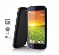"""סמארטפון חזק עם מסך איכותי וענק """"5 IPS QHD ,מעבד 2 ליבות, אנדרואיד 4.2 ותמיכה מלאה בעברית, כולל מתנה"""