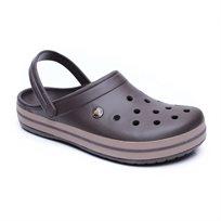 Crocs Crocband - כפכף קרוקס אוורירי בצבע חום כהה