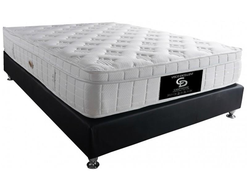 מזרון אורטופדי למיטה וחצי Camp David עם מערכת אוורור דו כיוונית + כרית מתנה