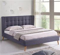 מיטה זוגית מרופדת בד דגם GILAD