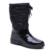 Scholl New Vestmann Boot - מגף גשם שחור לנשים