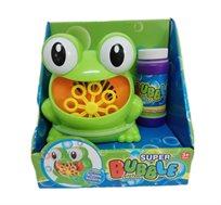 צפרדע מפריח בועות סבון אוטומטי לילדים