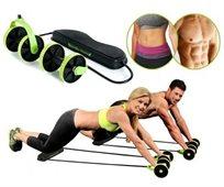 רצועות כושר Revoflex עם מגוון תרגילים ברמות שנות לחיזוק השרירים וחיטוב הגוף