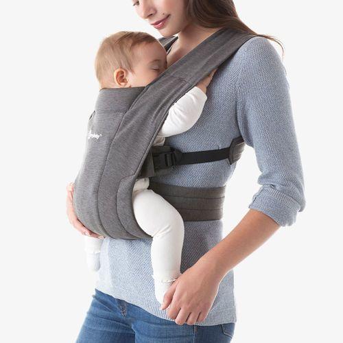 מנשא בד לתינוק אמברייס Embrace עם 3 תנוחות נשיאה - אפור