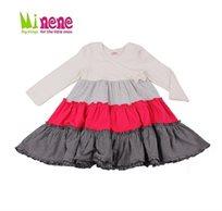 קולקציית חורף 2015 ב-Minene! שמלה שכבות מעוצבת עשויה 100% כותנה רכה