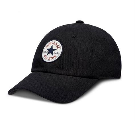כובע יוניסקס לוגו צ'אק טיילור שחור