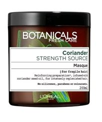 L'oreal Botanicals Coriander  Strength Cure Mask