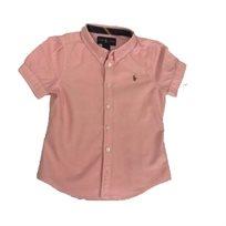 RALPH LAUREN / חולצה מכופתרת(5-6 שנים) - ורוד בהיר