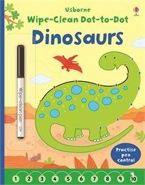 חוברת מחיקה - קו נקודה דינוזאורים