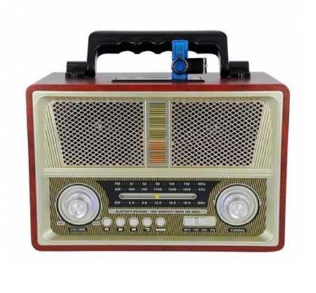 רדיו רטרו בעיצוב ייחודי משולב רמקול Bluetooth