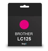 ראש דיו תואם BROTHER LC125 אדום