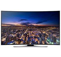 """טלוויזיה SAMSUNG LED SMART TV תלת-מימד קעורה בגודל """"55 ברזולוצית 4K תפריט בעברית דגם UA55HU8700 - משלוח חינם!"""
