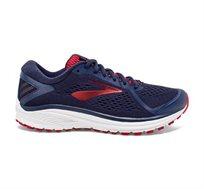 נעלי ריצה BROOKS ADURO 6 לגברים - כחול ואדום