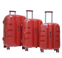 סט מזוודות קשיחות 3 יח' Calpak RAPURE בגדלים 22, 26, 30 inch