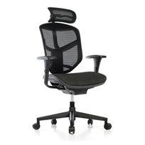 כיסא עבודה אורטופדי פרימיום Enjoy עם משענת ראש