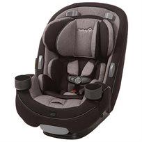 כסא בטיחות משולב בוסטר 3 ב 1 Grow & Go - אפור/שחור