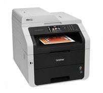 מדפסת לייזר משולבת צבעונית עם כרטיס רשת מובנה והדפסה דו צדדית Brother MFC-9140CDN