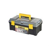 """ארגז כלים מקצועי """"16 CROWNMAN עשוי פלסטיק איכותי דגם 0018016"""
