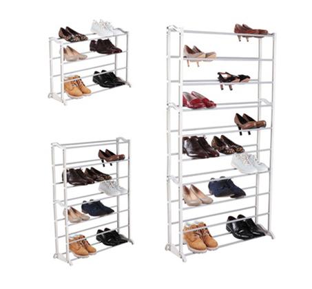 מעמד נעליים מודולרי שיעשה לכם סדר בחדר השינה, עם 10 מדפים המכיל עד כ-50 זוגות נעליים - תמונה 5